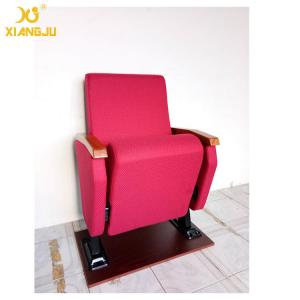 China Upholstered Aesthetic University Church Chairs Tip Up Seat Standard Size on sale