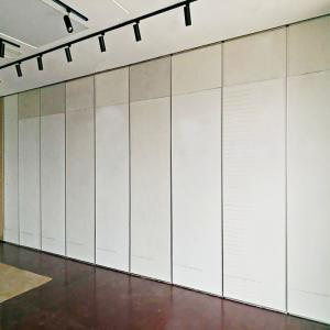 China Banquet Hall Aluminum Frame foldable Partition Wall / Acoustic Movable Walls on sale