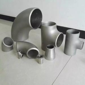 China SS Wrought Steel Pipe Fittings , ASTM A403 WP304H Duplex Steel Pipe Fittings Elbow Tee Cross Cap on sale