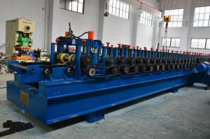 China Durable 20 Stations Cable Tray Roll Forming Machine 10 Meter Per Minute on sale