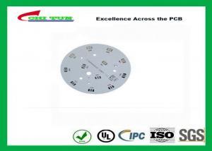 China Electronic Aluminum PCB Manufacturer for LED lighting White Solder Mask Rould PCB on sale