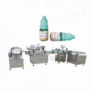 China Eye Drop Automatic Liquid Filling Machine For Electronic Cigarette Oil on sale