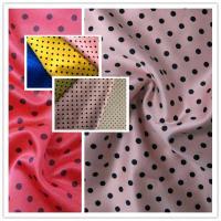 F5150 soft poly satin span full dull printing for lady fashion dress skirt