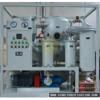 China 9000 Liters / Hour Oil Dehydration Machine Vacuum Oil Purifier For Power Transformer Of SIEMENS on sale