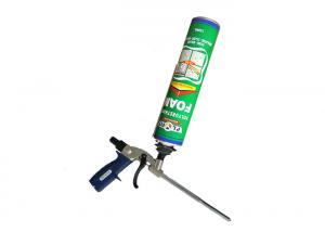 China Construction PU Foam Spray Waterproof Gap Filler Compressed Extruded No Shrinkage on sale