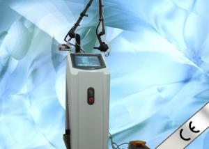 China 10600 nm CO2 Fractional Laser Skin Resurfacing Machine With 0.12 Mm Glass Laser Pipe on sale