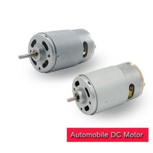 China 12 Volt Automobile DC Motor  35.8mm Diameter RS 555 DC Motor RoHS Certified on sale