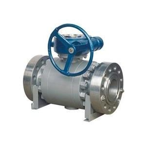 China API Forged Steel Trunnion Mounted Ball Valve Float High Pressure Big Size on sale