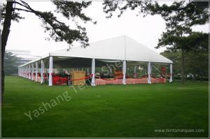 China 20 x 60 Large Outside Luxury Wedding Tents Party Canopy ISO CE Certification on sale