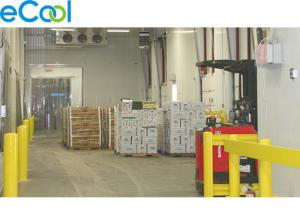 China -15 C ~ -25 C Low Temperature Cold Room Warehouse For Packed Frozen Food on sale