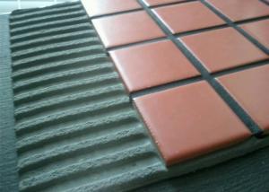 China Waterproofing Vinyl Floor Cement Based Adhesive / Porcelain Floor Tile Adhesive on sale