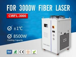 China High Power Industrial Water Chillers CWFL-3000 For 3000W Fiber Lasers on sale