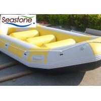 450cm Inflatable Fly Fishing Rafts , Heavy Duty River Rafts Excellent Air Tightness