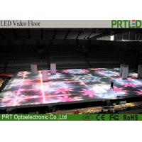 Multifunction Interactive LED Party Floors Video Floors SMD2727 P6.25mm