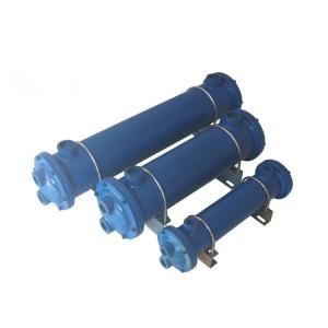 China Shell And Tube Heat Exchanger Condenser Single System 3HP - 70HP Water Cooled on sale