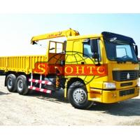 China 6x4 Truck Mounted Hydraulic Crane, 10 Tons Lifting Load Truck Mounted Crane on sale