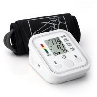Digital Upper Arm Blood Pressure Pulse Monitors Portable W/Cuff Sphygmomanometer