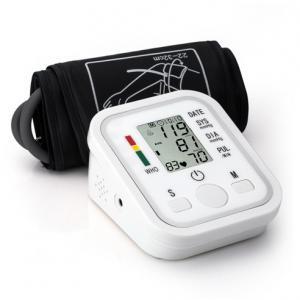 China Digital Upper Arm Blood Pressure Pulse Monitors Portable W/Cuff Sphygmomanometer on sale