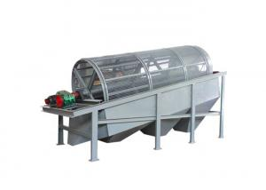 China 316l Stainless Steel Trommel Drum Screen Separator Machines For Wood Chips on sale