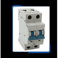 China Low Voltage L7 2 pole Miniature Circuit Breaker mcb switch with high short-circuit capacity on sale