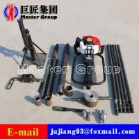 China QTZ-1 single hand soil portable sample drilling rig with  simplicity of operator on sale