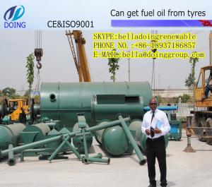 China new professional garbage incinerator  machine get fuel oil from waste tyre on sale