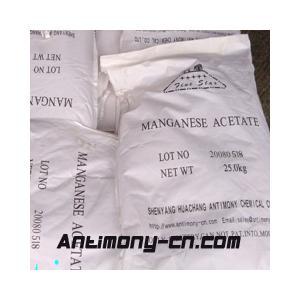 China Manganese Acetate on sale