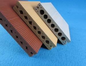 China Outdoor Eco Friendly Hollow Wood Plastic Composites For Public Building on sale