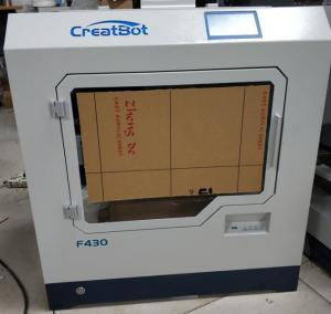China Large Printing Size Carbon Fiber 3D Printer F430 400 * 300 * 300mm Dual Extruder on sale