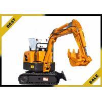 China 800kg Crawler Hydraulic Excavator 340mm Bucket Width , Road Digging Machine For Farm Use on sale