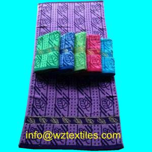 China Cheap Recycled Cotton Bath Towels 70x140cm on sale