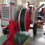 4 Ton 5 Grooves Overhead Line Stringing Equipment Hydraulic Cable Tensioner Machine