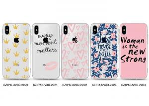 China Slim Tpu Pc 3d Printed Phone Cases Different Colors Protective For Iphone 7 Plus on sale