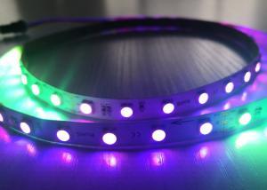 China RGBW 24VDC LED Flexible Digital Addressable Led Pixel Smart Strip Lights on sale