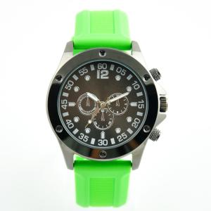 China Japan Movt Quartz Plastic Strap Watch Customized Logo For Lady Girls on sale