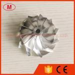 CT26 48.30/64.89mm 11+0 blades Turbo Billet/aluminum 2618/milling compressor wheel for TOYOTA
