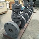 API DIN GOST Standard Cast Steel Forged Steel  Wedge Weld Flange Gate Valve