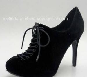 China Black Lady Fashion Shoes on sale