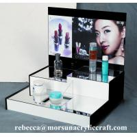 High grade table top acrylic cosmetic display stand
