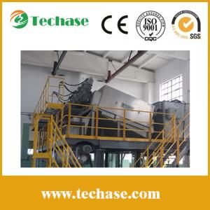 China Volute sludge dewatering screw press for wastewater treatment on sale