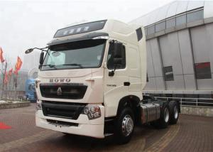 China Long Distance Heavy Transport Truck , Sinotruk Howo T5G Commercial Truck Trailer on sale