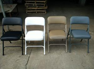 wholesale upholstered church chair metal folding chairs cheap used