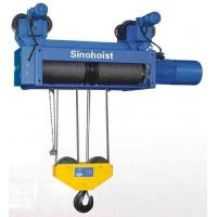 China Euro Model Insulated Hoist With Frequency Inverter 30 Ton , Monorail Trolley Hoist on sale
