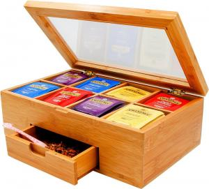 China organic bamboo tea box for sale with high quality and competitive price on sale