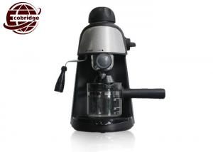 China 3.5 BAR 240ML Espresso Coffee Makers , 800W 110V Black Coffee Maker Machine on sale