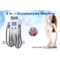 Multifunction Cryolipolysis Slimming Machine With Cavitation / Radio Frequency / Lipo Laser