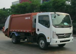 China Diesel Engine Garbage Dump Truck 3 Tons Capacity For Environmental Public on sale