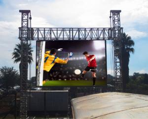 China Large Outdoor Rental led screen wall , Advertising Electronic Display Boards on sale