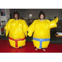 China Logo Printing Sumo Wrestling Suits Custom Size Silk Wadding Inside Soft Touching on sale