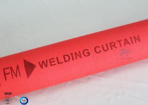 China Medium Alkali Heat Resistant 510g C-glass Silicone Coated Fiberglass Fabric on sale